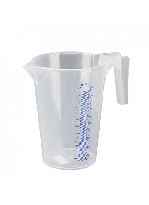 Transparenter 0.5 Liter Messbecher Polyprophylen (PP)